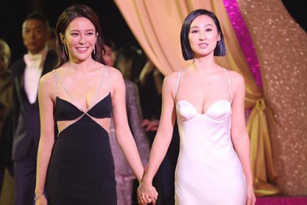 Dàn mỹ nhân TVB diện đầm khoe ngực trên thảm đỏ