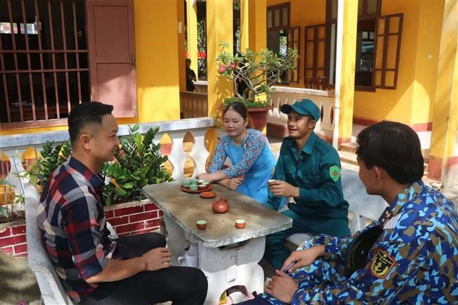 chung cake,Sinh Ton island,Truong Sa,Spratly archipelago,Lunar New Year