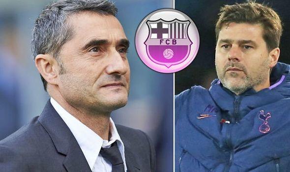 Barca họp sa thải HLV Valverde, chọn Pochettino thay