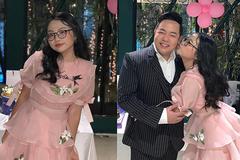 Phương Mỹ Chi đón tuổi mới bên cha nuôi Quang Lê sau nghi vấn mâu thuẫn