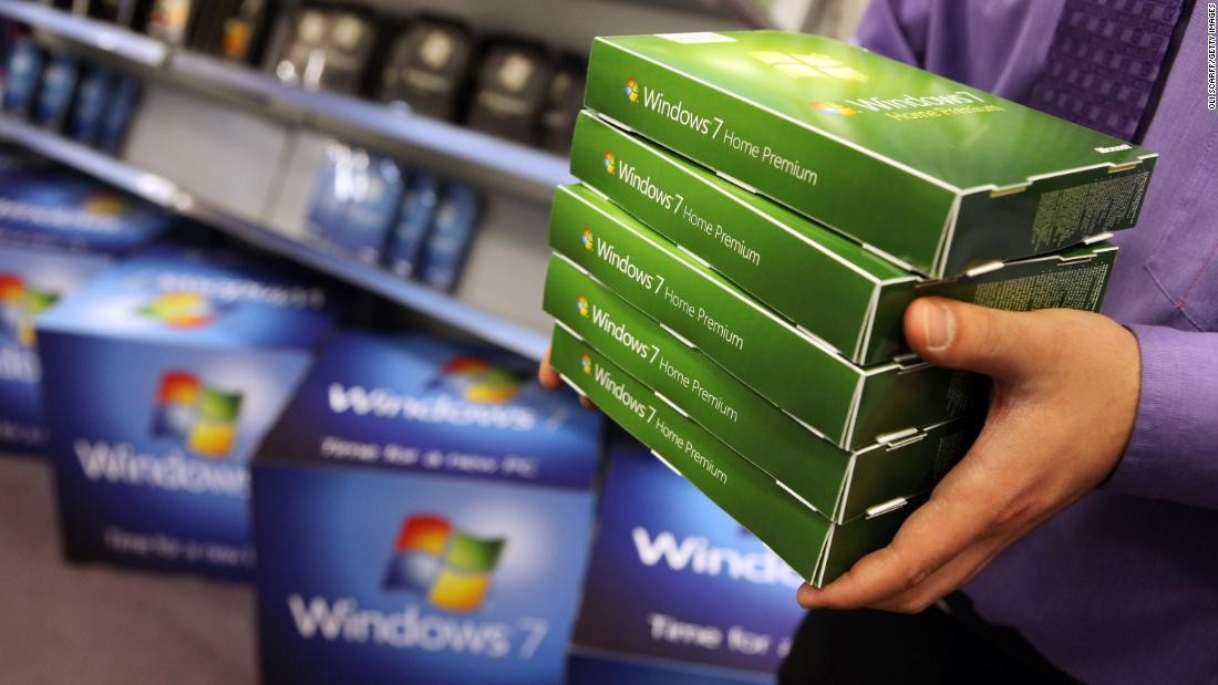 Windows 7 bị khai tử tuần này