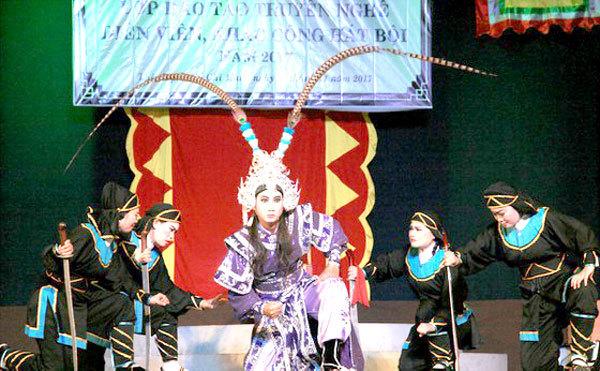 HCM City Hat Boi Art Theatre,hát bội,traditional theatres,new talent