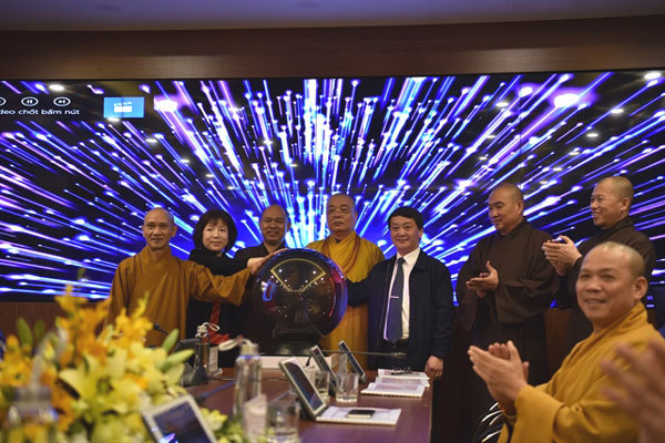 Vietnam Buddhist Sangha launches e-operation centre
