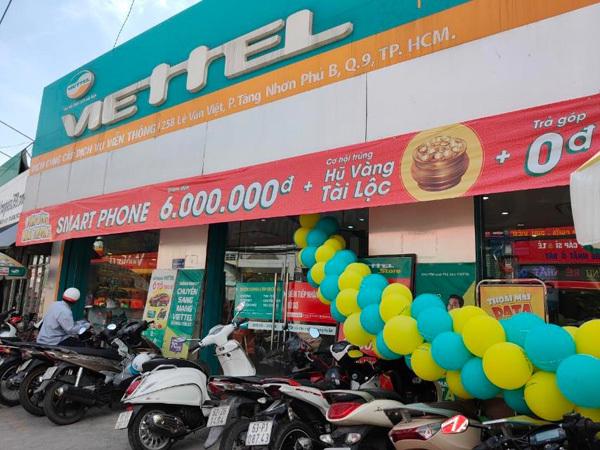 Mở thêm siêu thị ở TP.HCM, mua smartphone tại Viettel Store trúng hũ vàng