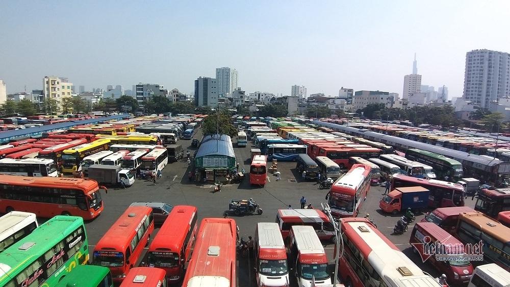 Tết Canh Tý 2020,Ùn Tắc,Bến Xe Miền Đông,an toàn giao thông,ùn tắc giao thông,kẹt xe