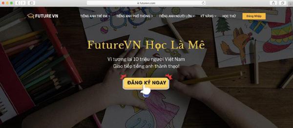 Học tiếng Anh trực tuyến chuẩn quốc tế với FutureVN