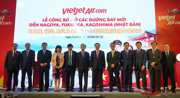 Vietjet mở thêm 5 đường bay mới tới Nhật Bản