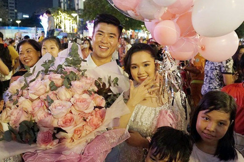 Duy Mạnh,Quỳnh Anh,Tình yêu,Đội tuyển Việt Nam