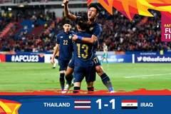 Loại U23 Iraq, U23 Thái Lan làm nên lịch sử