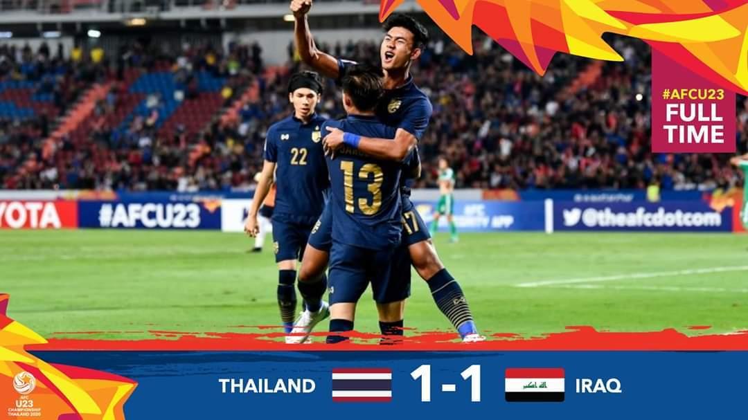 U23 Thái Lan vs U23 Iraq,U23 Thái Lan