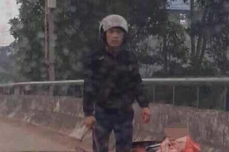 Kẻ chém phụ nữ trên cầu ở Thái Nguyên sa lưới