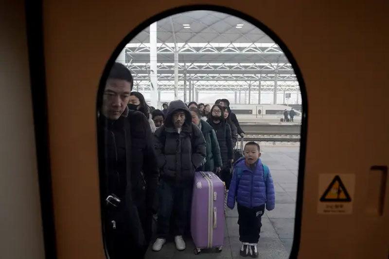 'Biển người' Trung Quốc di chuyển trong kỳ nghỉ Tết