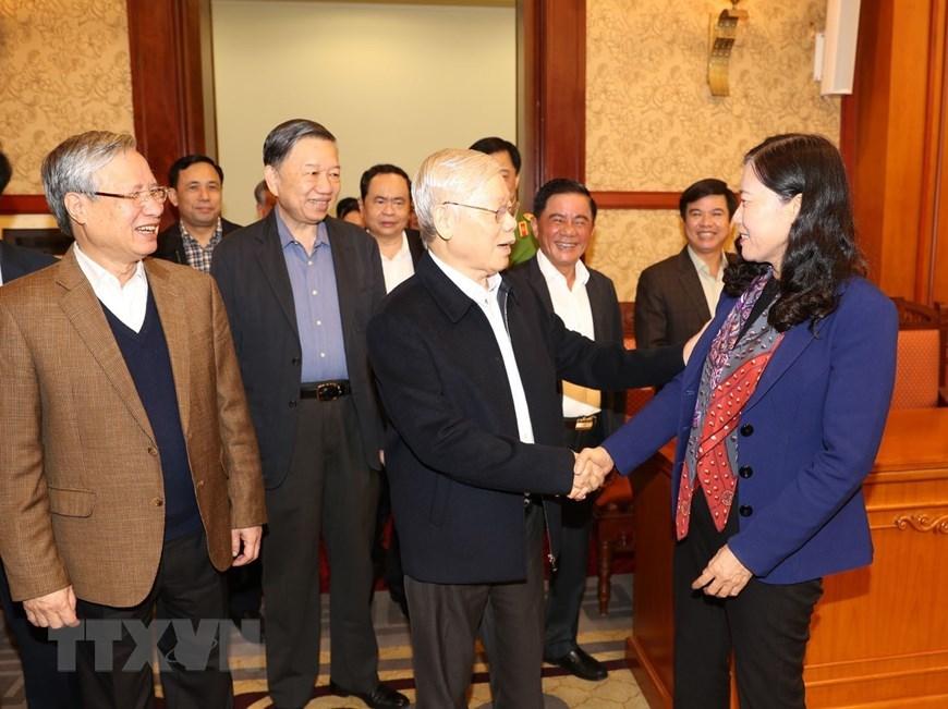 Tổng bí thư,Chủ tịch nước Nguyễn Phú Trọng,chống tham nhũng