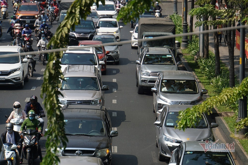 Tết Canh Tý 2020,Tân Sơn Nhất,Kẹt Xe,ùn tắc giao thông