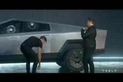 Tesla bán áo phông in hình cửa kính xe Cybertruck bị vỡ trong buổi ra mắt
