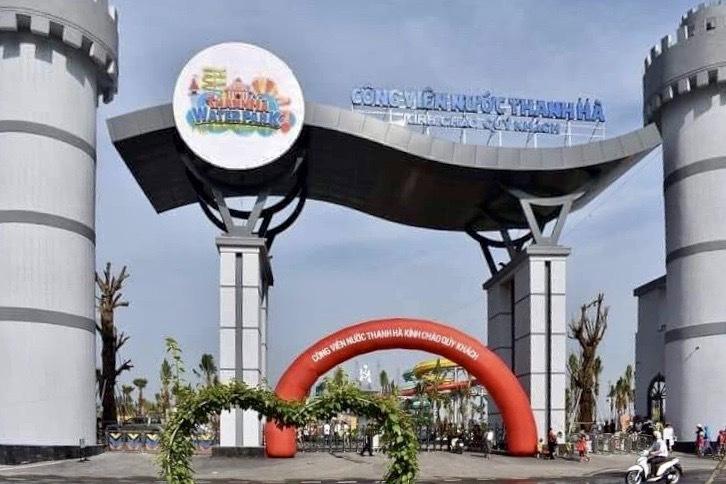 Cưỡng chế phá dỡ công viên nước Thanh Hà lớn nhất Hà Nội