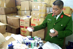 Police discover fake medicine trading ring