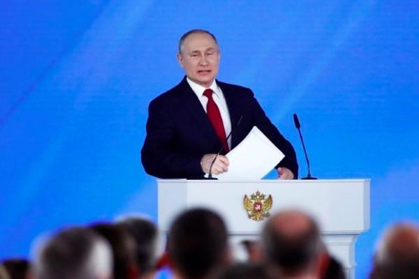 'Địa chấn chính trị' ở Nga sau bài phát biểu của Putin