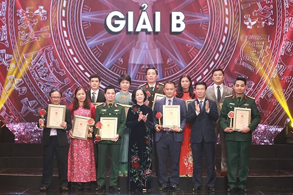 Trao giải Búa liềm vàng cho 57 tác phẩm báo chí