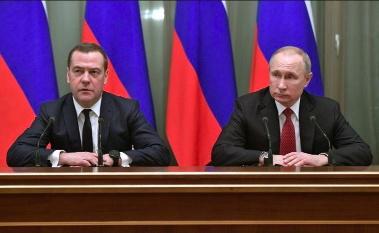 Thủ tướng Nga,chính phủ Nga,từ chức,Tổng thống Putin,chính phủ từ chức,Dimitry Medvedev