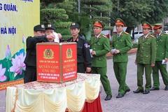 Công an Nghệ An quyên góp ủng hộ 3 chiến sỹ hy sinh tại Đồng Tâm