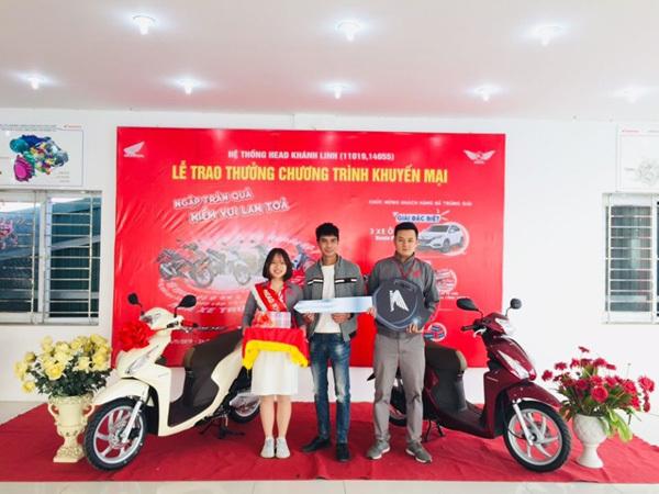 Lộ diện khách hàng thứ 3 trúng thưởng ô tô của Honda