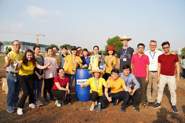 Sanofi tích cực trồng cây 'Vì một tương lai xanh'