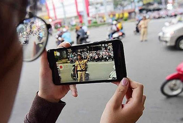 Citizens allow to film traffic police from January 15