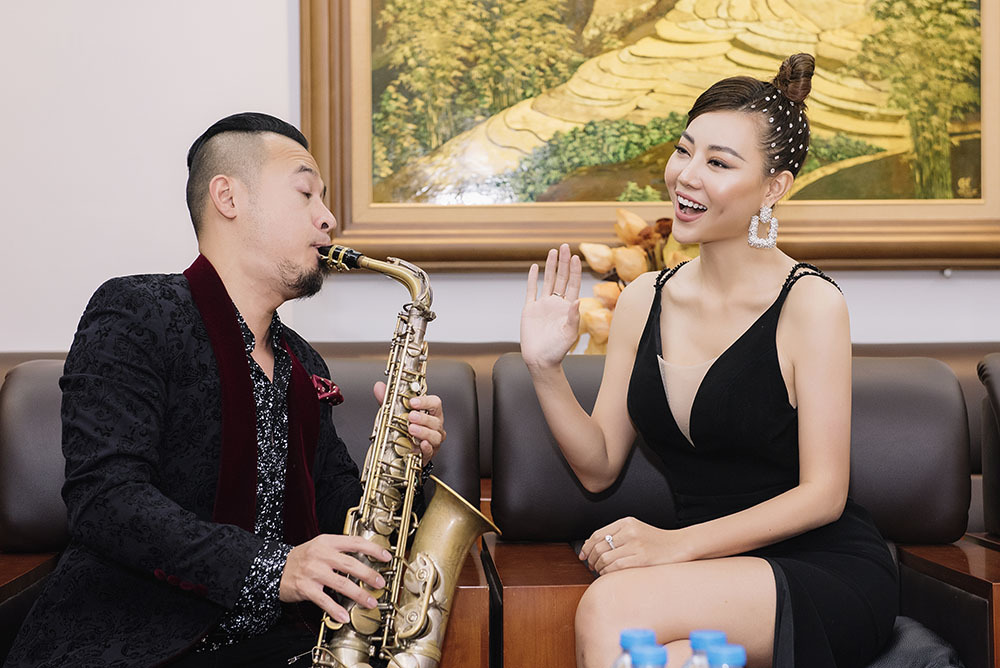 Thanh Hương tiết lộ bất ngờ trong đêm gala thể thao