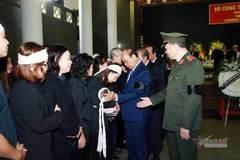 Nghẹn ngào tang lễ 3 chiến sĩ hy sinh tại Đồng Tâm