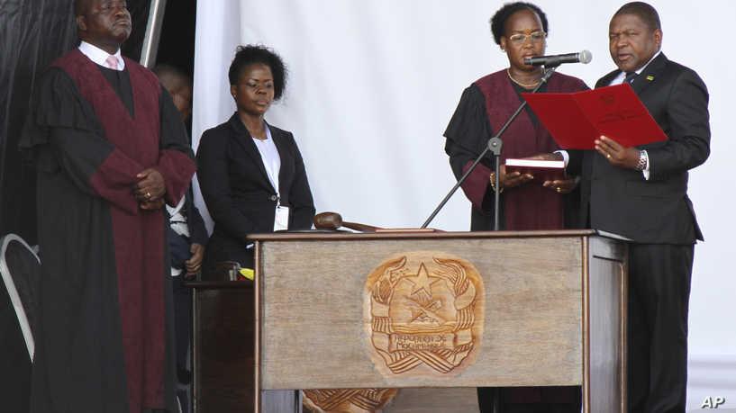 Tổng thống Mozambique Filipe Nyusi tuyên thệ nhậm chức nhiệm kỳ 2