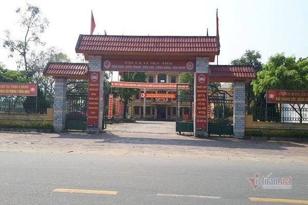 Bí thư thị trấn ở Hà Tĩnh bị khai trừ Đảng vì sai phạm đất đai