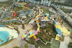 Hanoi's biggest water park demolished for construction violation