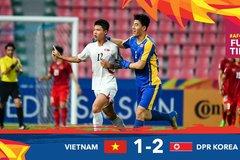 Video bàn thắng U23 Việt Nam 1-2 U23 Triều Tiên