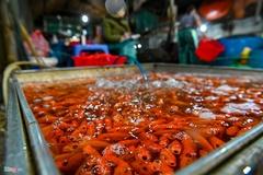 Chợ cá lớn nhất Hà Nội đỏ rực ngày cúng ông Công ông Táo
