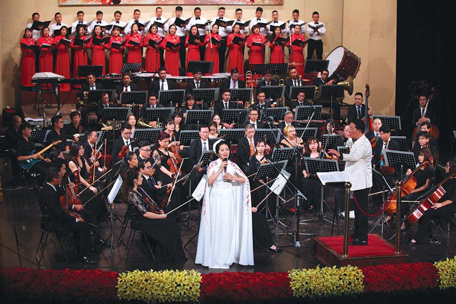 Hòa nhạc Quốc gia Điều còn mãi: Nốt nhạc thăng cho một Việt Nam bay lên