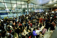 Noi Bai Airport urges passengers to arrive early to avoid overcrowding