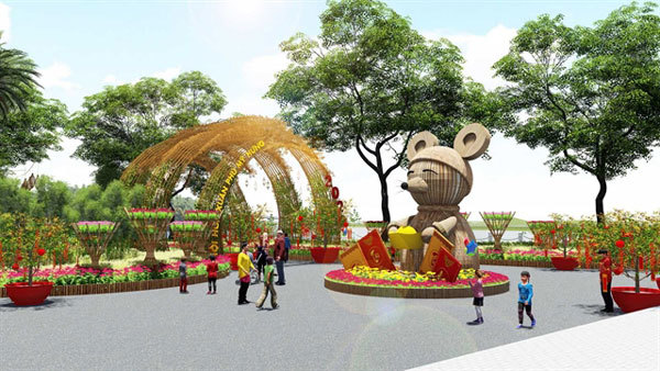 Annual spring flower festival to open in Phu My Hung City Centre