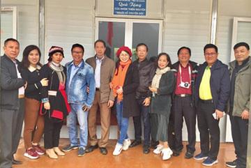 Xây dựng điểm trường cho người nghèo Hà Giang