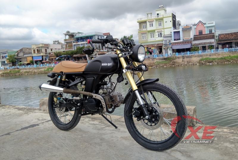 Honda 67,cafe racer,độ Honda 67,phong cách xe classic,xe máy hoài cổ