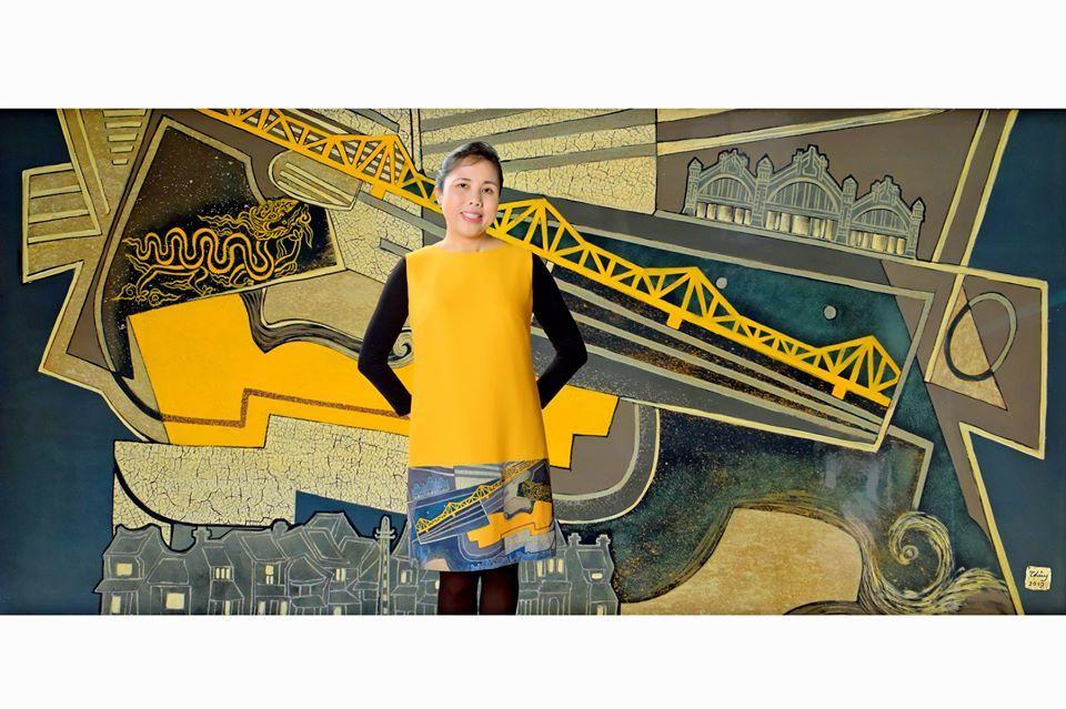 11 nữ Đại sứ mở hàng ngôi nhà nghệ thuật của tác giả con đường gốm sứ