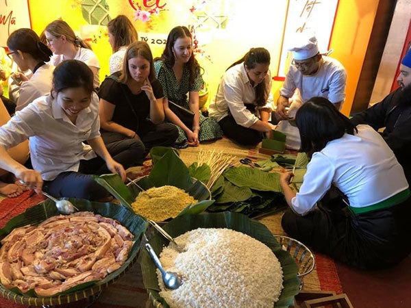 International student exchange begins in Da Nang