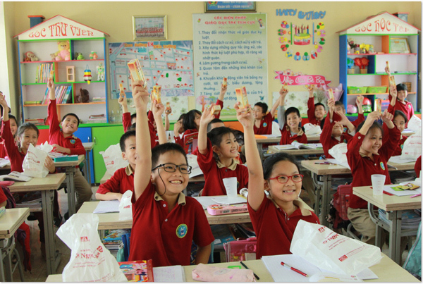 Nha học đường 2019: giúp học sinh chủ động phòng bệnh răng miệng
