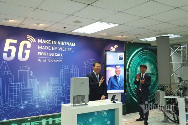 Make in vietnam,cách mạng công nghiệp 4.0,mạng 5G,công nghệ