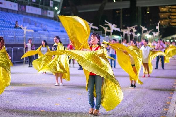 Đoàn nghệ sĩ Việt Nam biểu diễn ở Thái Lan, Singapore