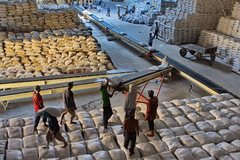 S.Korea says to import 55,000 tons of rice from Vietnam