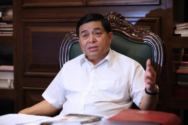Bộ trưởng Nguyễn Chí Dũng: 'Chúng ta có khát vọng vươn lên'