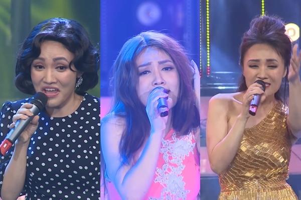 Nhật Thủy giả giọng 4 nhân vật, xuất sắc chiến thắng Gương mặt thân quen