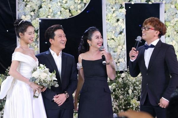 Nữ MC trong đám cưới chính là người Trường Giang yêu thầm 17 năm giờ ra sao