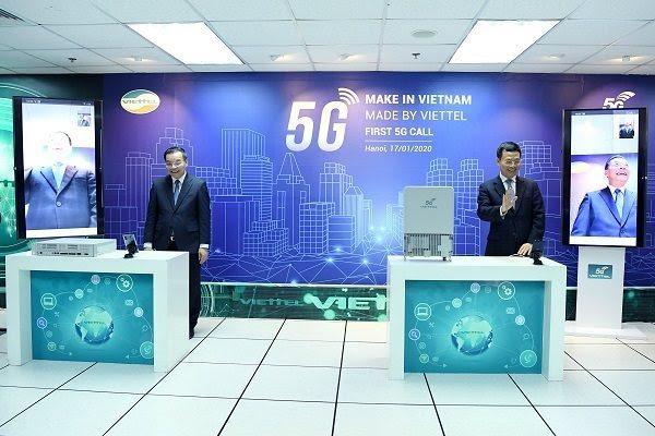 Viettel uses own device to make first 5G call